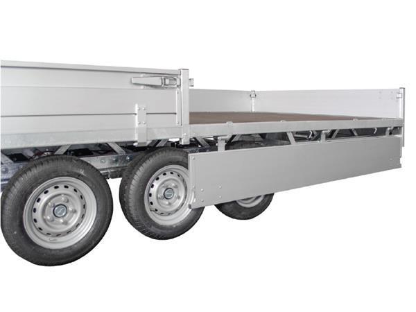 Grote foto hulco medax 3 3500502 x 223 3500 kg open aanhangwagen auto diversen aanhangers