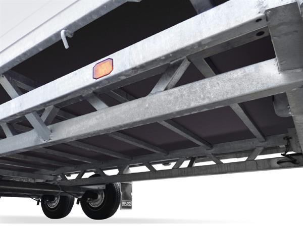 Grote foto hulco medax 2 2600405 x 183 2600 kg open aanhangwagen auto diversen aanhangers