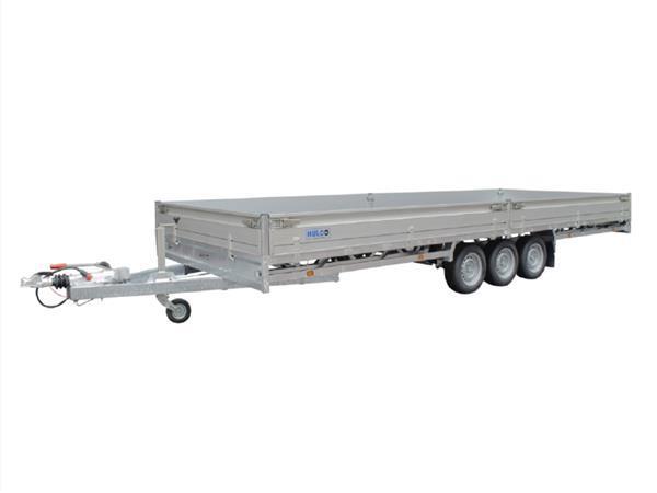 Grote foto hulco medax 3 3500611 x 203 3500 kg open aanhangwagen auto diversen aanhangers