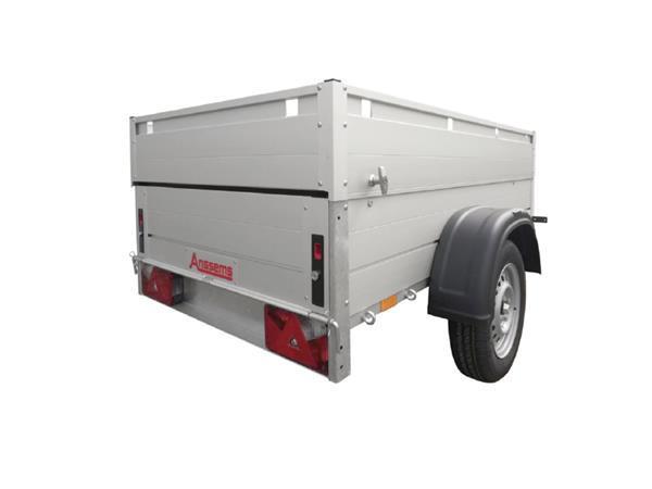 Grote foto anssems gt 750 ht251 x 126 x 48 750 kg bagage aanhangwageng auto diversen aanhangers
