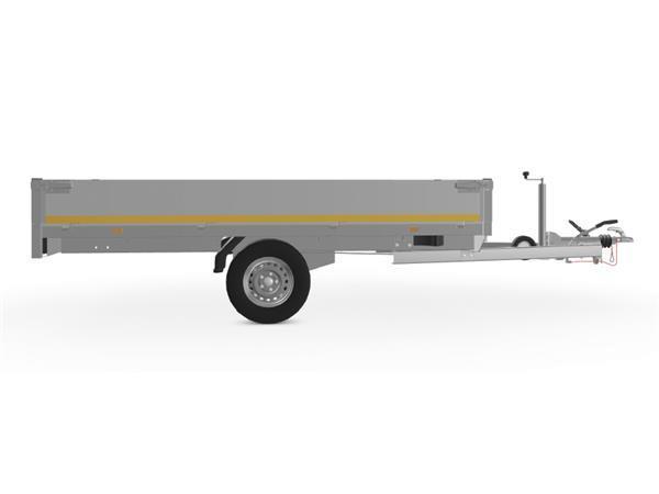 Grote foto eduard plateau multi 311 x 160 1500 kg open aanhangwagen auto diversen aanhangers