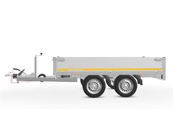 Grote foto eduard plateau multi 256 x 150 2000 kg open aanhangwagen auto diversen aanhangers