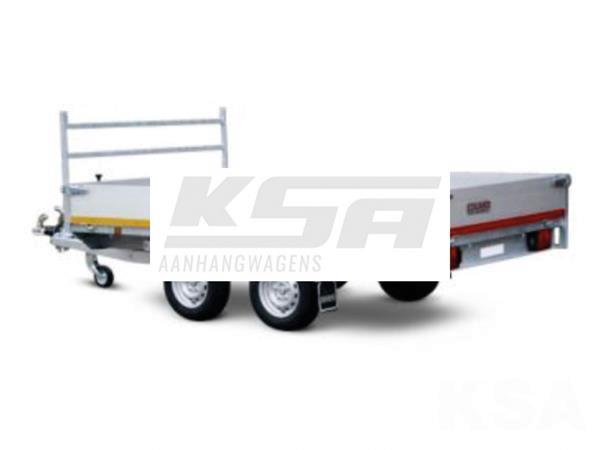 Grote foto eduard plateau multi 330 x 180 2000 kg open aanhangwagen auto diversen aanhangers