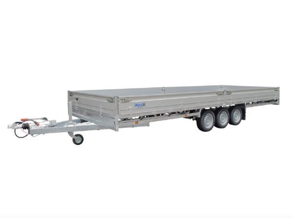 Grote foto hulco medax 3 3500502 x 203 3500 kg open aanhangwagen auto diversen aanhangers