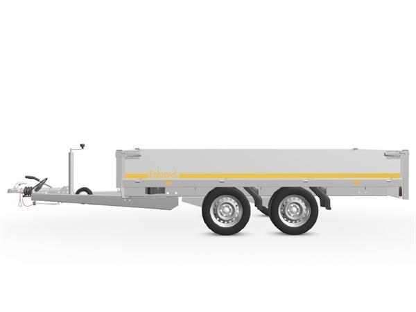 Grote foto eduard plateau multi 311 x 160 2700 kg open aanhangwagen auto diversen aanhangers