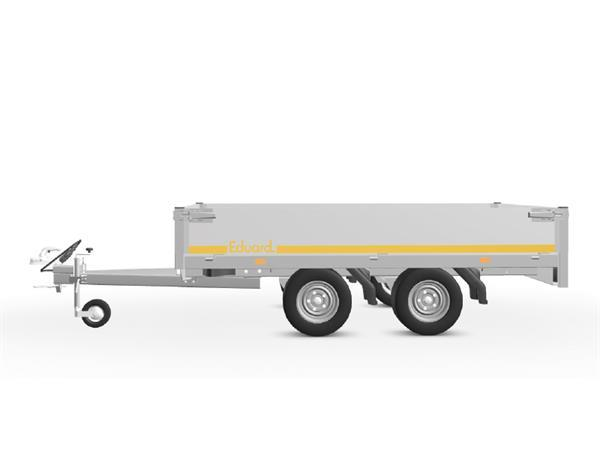 Grote foto eduard plateau multi 256 x 150 750 kg open aanhangwagen auto diversen aanhangers