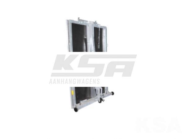 Grote foto walltrailer184 x 118 750 kg open aanhangwagen auto diversen aanhangers