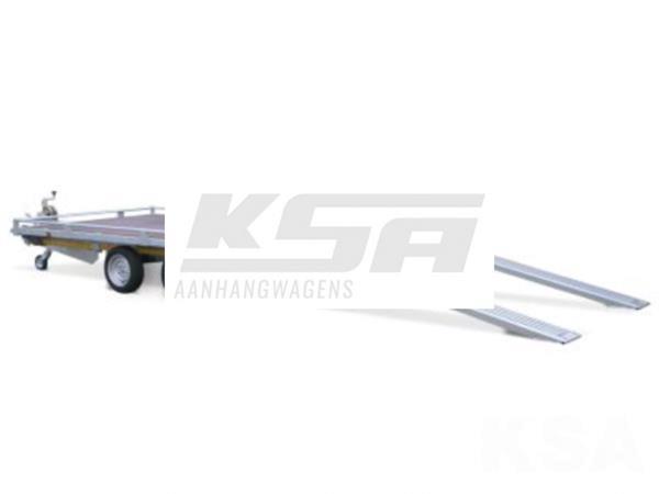 Grote foto eduard plateau multi 406 x 200 2700 kg open aanhangwagen auto diversen aanhangers