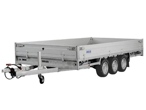 Grote foto hulco medax 3 3500405 x 203 3500 kg open aanhangwagen auto diversen aanhangers