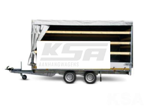 Grote foto eduard plateau multi 406 x 180 2500 kg open aanhangwagen auto diversen aanhangers