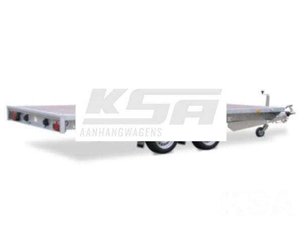 Grote foto eduard plateau multi 311 x 180 3000 kg open aanhangwagen auto diversen aanhangers