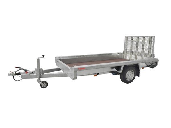 Grote foto hulco terrax 1 1500 basic 294 x 150 1500 kg autoambulance auto diversen aanhangers