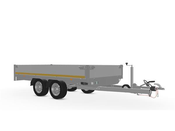 Grote foto eduard plateau multi 311 x 160 2000 kg open aanhangwagen auto diversen aanhangers
