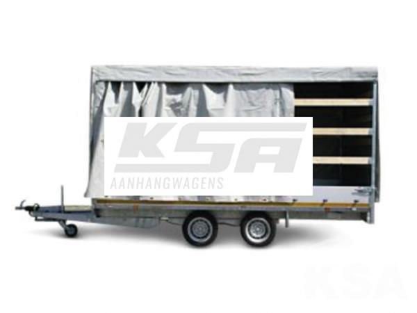 Grote foto eduard plateau multi 406 x 180 3000 kg open aanhangwagen auto diversen aanhangers