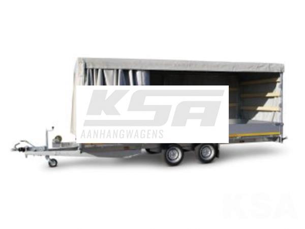 Grote foto eduard plateau multi 506 x 220 3500 kg open aanhangwagen auto diversen aanhangers