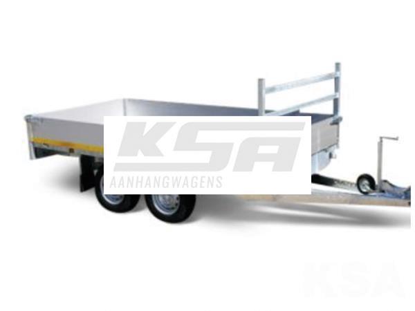 Grote foto eduard plateau multi 330 x 180 3500 kg open aanhangwagen auto diversen aanhangers