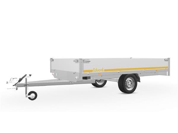 Grote foto eduard plateau 311 x 160 750 kg open aanhangwagen auto diversen aanhangers