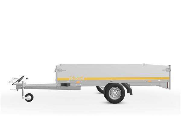 Grote foto eduard plateau 256 x 150 750 kg open aanhangwagen auto diversen aanhangers