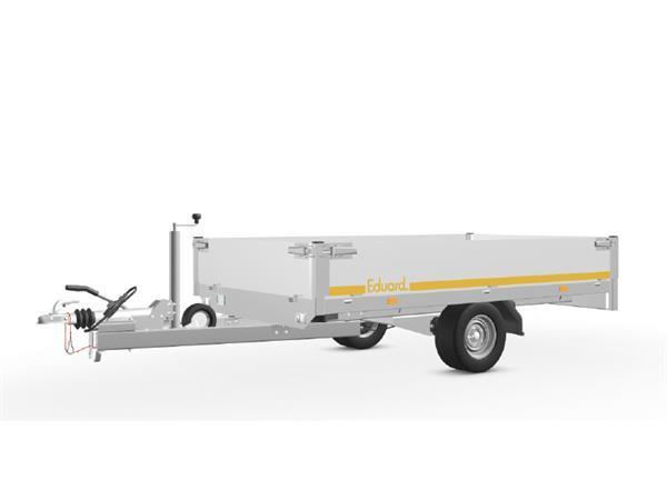 Grote foto eduard plateau 256 x 150 1500 kg open aanhangwagen auto diversen aanhangers