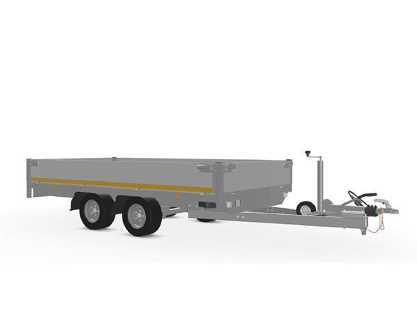Grote foto eduard plateau 311 x 160 2000 kg open aanhangwagen auto diversen aanhangers