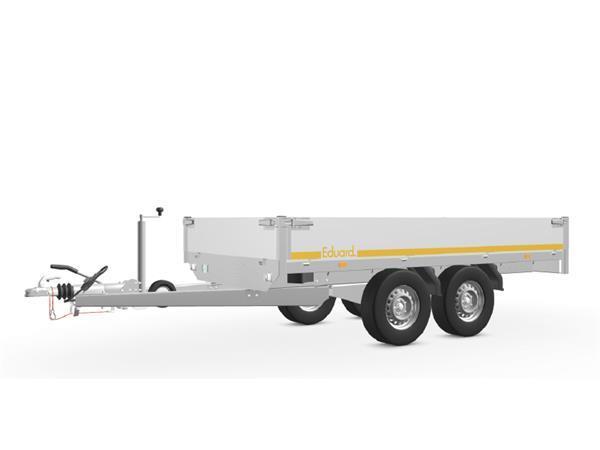 Grote foto eduard plateau 311 x 160 2500 kg open aanhangwagen auto diversen aanhangers