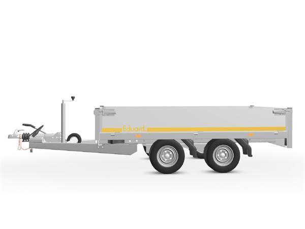 Grote foto eduard plateau 256 x 150 2700 kg open aanhangwagen auto diversen aanhangers