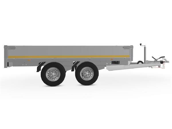 Grote foto eduard plateau 311 x 180 2500 kg open aanhangwagen auto diversen aanhangers
