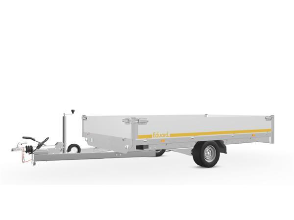 Grote foto eduard plateau 311 x 180 1350 kg open aanhangwagen auto diversen aanhangers