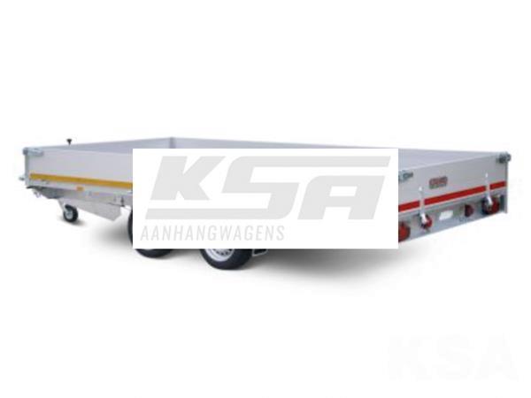 Grote foto eduard plateau 406 x 180 2000 kg open aanhangwagen auto diversen aanhangers