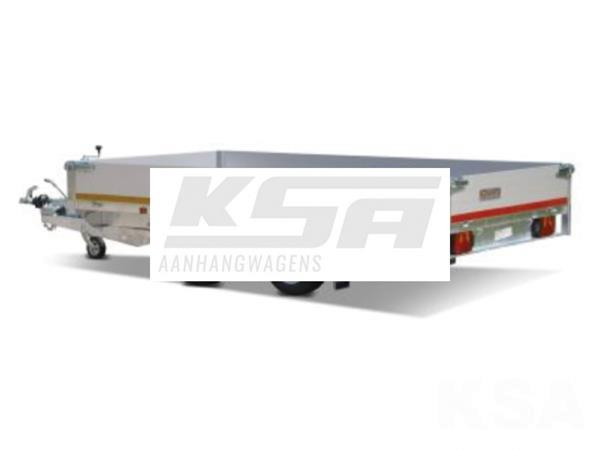 Grote foto eduard plateau 330 x 180 3500 kg open aanhangwagen auto diversen aanhangers