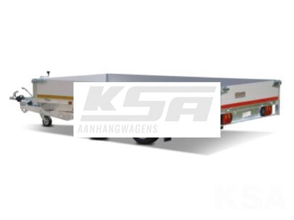 Grote foto eduard plateau 330 x 180 3000 kg open aanhangwagen auto diversen aanhangers