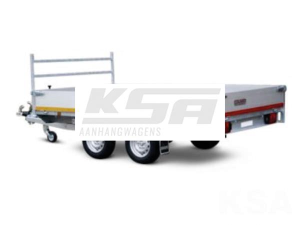 Grote foto eduard plateau 330 x 180 2700 kg open aanhangwagen auto diversen aanhangers