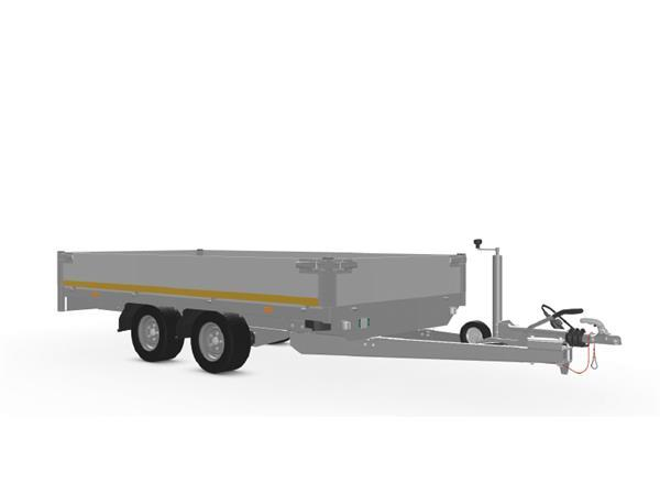 Grote foto eduard plateau 311 x 160 2700 kg open aanhangwagen auto diversen aanhangers