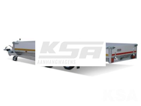 Grote foto eduard plateau 406 x 180 2700 kg open aanhangwagen auto diversen aanhangers