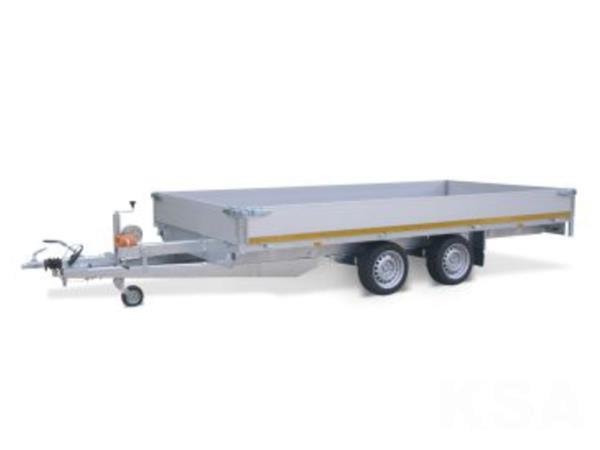 Grote foto eduard plateau406 x 200 2000 kg open aanhangwagen auto diversen aanhangers