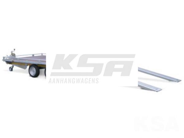 Grote foto eduard autotransporter406 x 200 3000 kg open aanhangwagenau auto diversen aanhangers