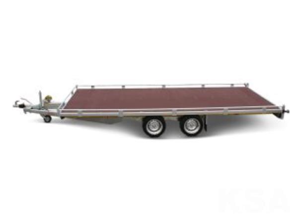 Grote foto eduard plateau506 x 200 2700 kg open aanhangwagen auto diversen aanhangers
