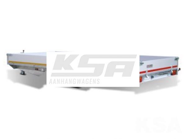 Grote foto eduard plateau606 x 200 3000 kg open aanhangwagen auto diversen aanhangers