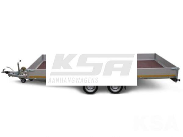 Grote foto eduard plateau506 x 220 3000 kg open aanhangwagen auto diversen aanhangers