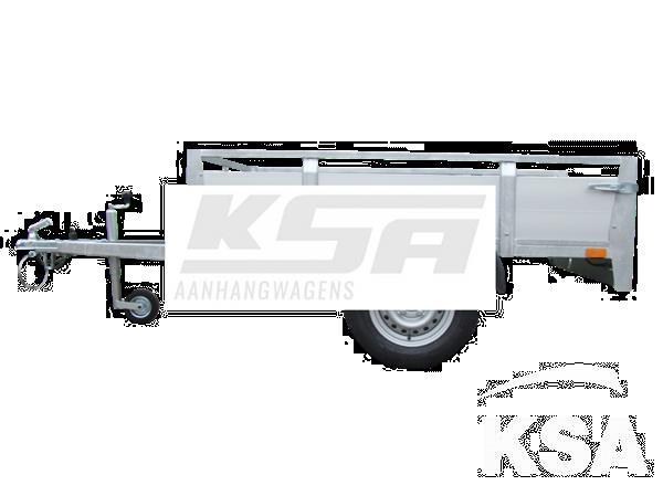 Grote foto twins ta09a aluminium257 x 157 x 40 750 kg open aanhangwage auto diversen aanhangers