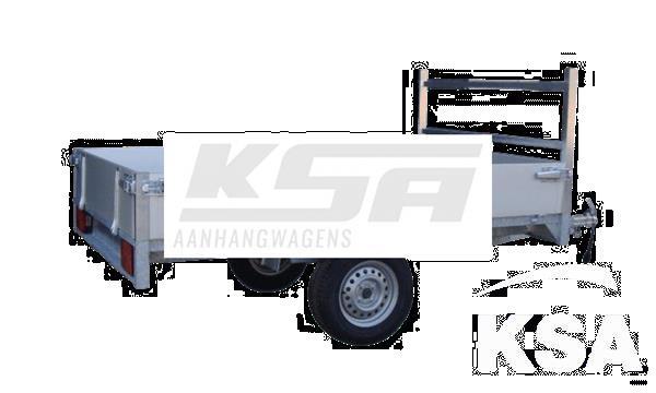 Grote foto twins tp01s257 x 157 x 30 750 kg open aanhangwagen auto diversen aanhangers