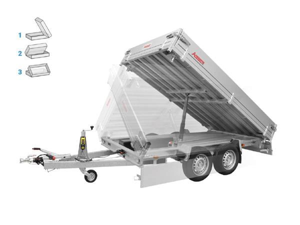 Grote foto anssems ksx 3000 e305 x 178 3000 kg aanhangwagen kipper auto diversen aanhangers