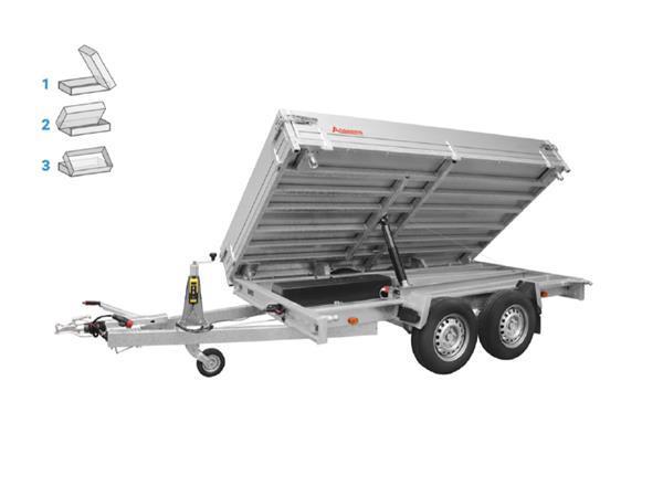 Grote foto anssems ksx 2500 e305 x 178 2500 kg aanhangwagen kipper auto diversen aanhangers