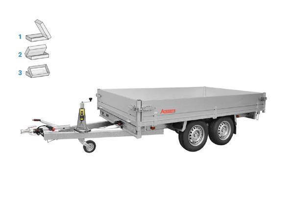 Grote foto anssems ksx 3500 e305 x 178 3500 kg aanhangwagen kipper auto diversen aanhangers