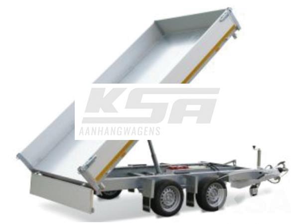 Grote foto eduard achterwaartse kipper310 x 160 3000 kg aanhangwagen k auto diversen aanhangers