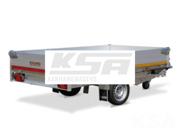 Grote foto eduard achterwaartse kipper260 x 150 1350 kg aanhangwagen k auto diversen aanhangers