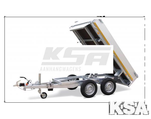 Grote foto eduard achterwaartse kipper310 x 160 2700 kg aanhangwagen k auto diversen aanhangers