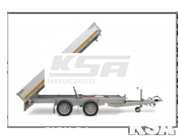 Grote foto eduard achterwaartse kipper260 x 150 2700 kg aanhangwagen k auto diversen aanhangers