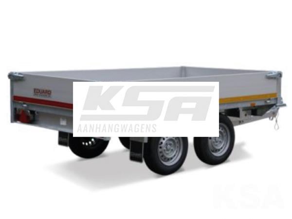 Grote foto eduard achterwaartse kipper310 x 160 750 kg aanhangwagen ki auto diversen aanhangers