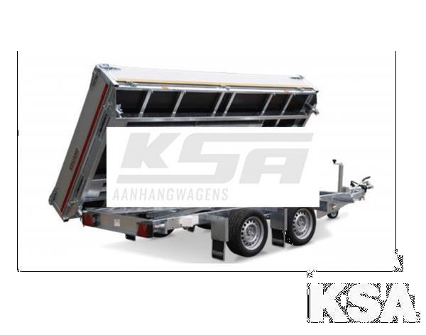 Grote foto eduard 3 zijdige kipper310 x 160 2000 kg aanhangwagen kippe auto diversen aanhangers